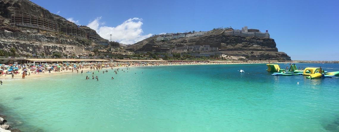 Medeltemperatur Puerto Rico Gran Canaria Kanarieöarna Spanien