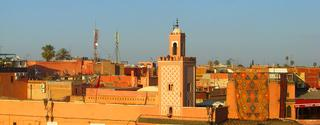 Medeltemperatur Marrakech